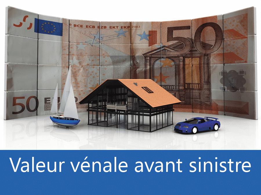 Valeur vénal avant sinistre 76, valeur des biens assurance Rouen, expert valeur vénale La Seine-Maritime,